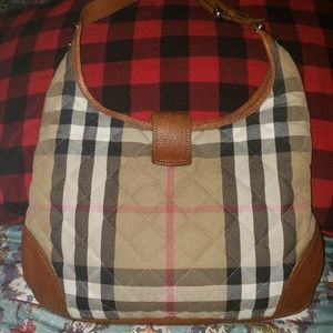 Burberry Bags - Burberry House Check Quilted Manor Hobo Bag